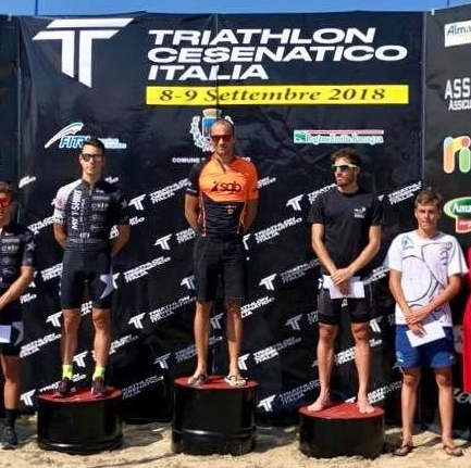 Weekend di trionfi per gli uragani del triathlon