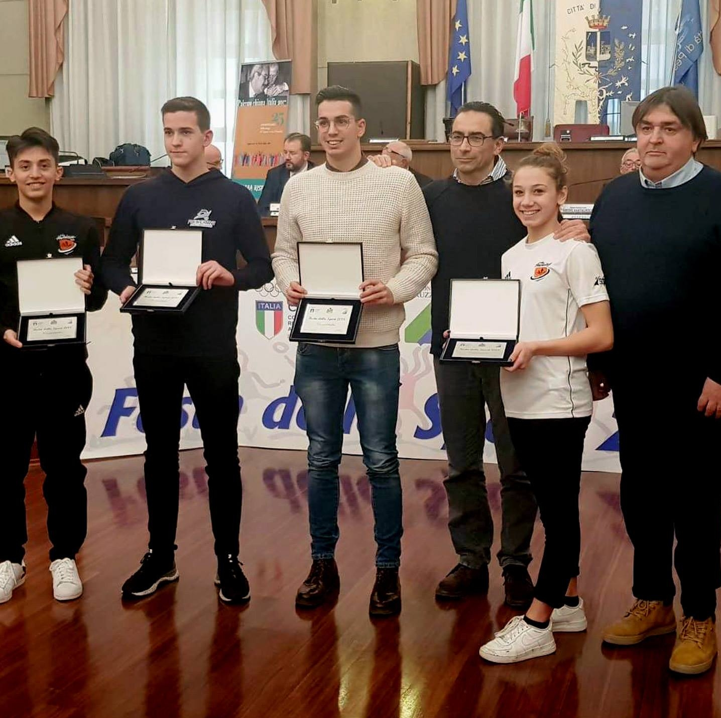 II team The Hurricane premiato al Gran Galà dello Sport