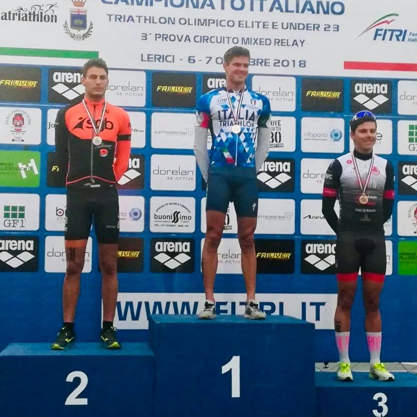 Grande weekend in Liguria per gli Uragani del triathlon
