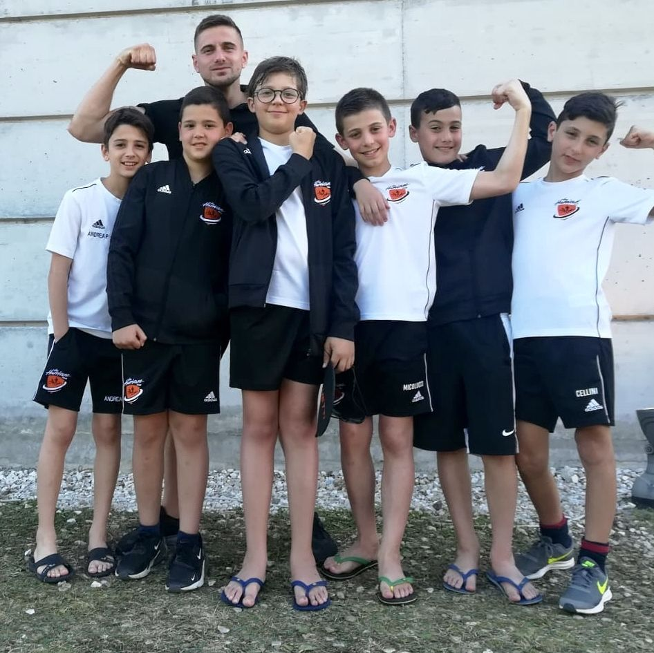Il team di nuoto al Meeting